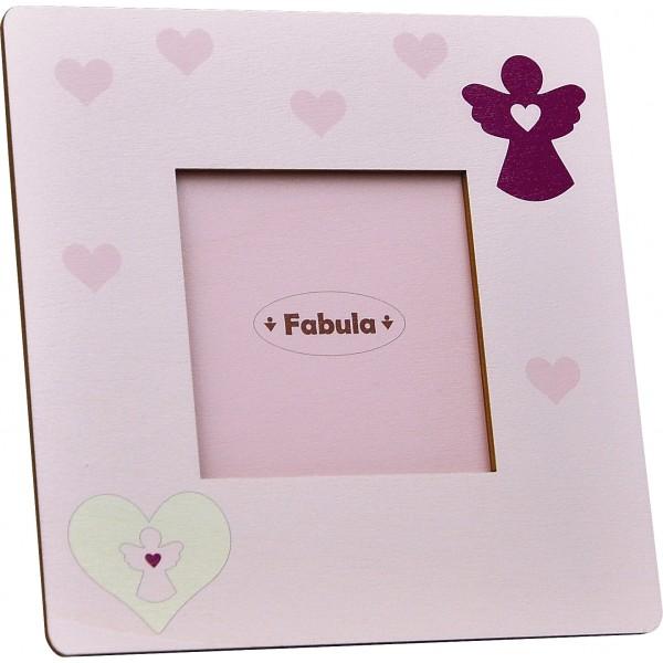 Cornice Fotografica da Tavolo stampata su legno - personalizzabile - modello F - Prima Comunione