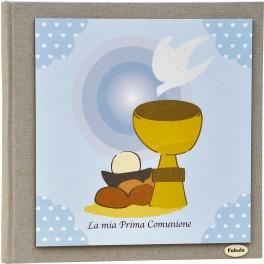 Album per foto Calice Cielo - Personalizzabile - Prima Comunione