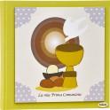 Album per foto Calice Quadro - Personalizzabile - Prima Comunione