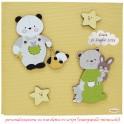 Album per foto Orso Panda - Personalizzabile