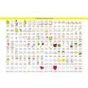 Fabula - Orologio in Legno da Tavolo - colore e applicativo a scelta