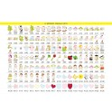 Fabula - Cornice Fotografica da Tavolo Sagomata in Legno - colori e applicativi a Vs scelta fra quelli di ns produzione