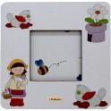 Helen - Cornice Fotografica da Tavolo stampata su legno - personalizzabile