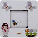 Angelina - Cornice Fotografica da Tavolo stampata su legno - personalizzabile