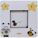 Panda - Cornice Fotografica da Tavolo stampata su legno - personalizzabile