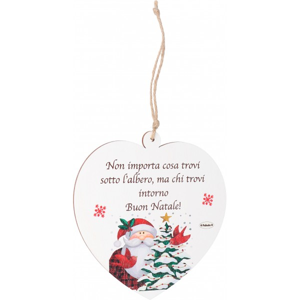 Frasi Di Natale A Forma Di Albero.Decorazioni In Legno Personalizzabile A Forma Di Angelo Renna Stella Cuore Casetta Da Appendere All Albero Di Natale