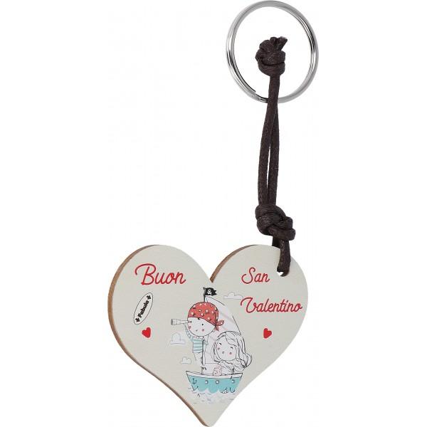 Portachiavi San Valentino: Idea regalo di Fabulawood