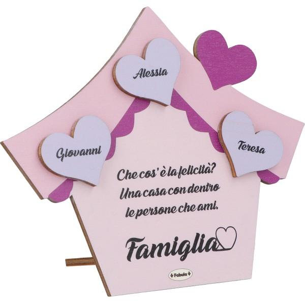 Targa Famiglia con nomi personalizzati