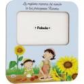 Fabula Festa della Mamma - Cornice da Tavolo in legno - personalizzabile - modello E