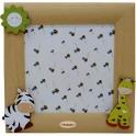 Zebra e Giraffa - Cornice Profilo Maxi da Parete