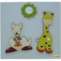 Giraffa e Canguro 19x25 Diario Nascita