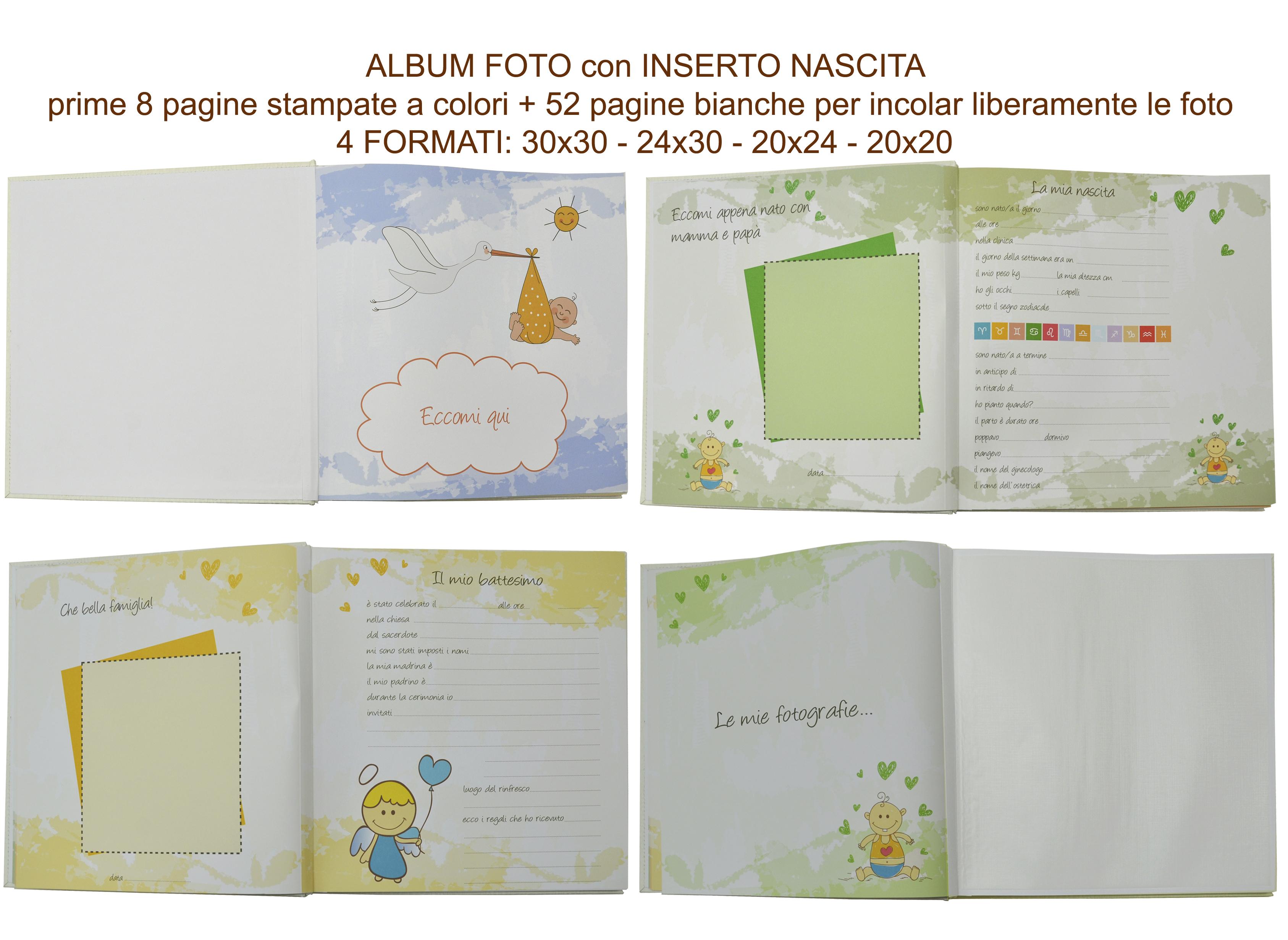 Fabula Album Fotografico con Inserto Nascita